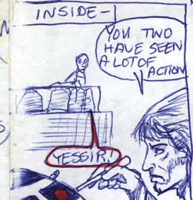 luke artoo an threepio comic page detail