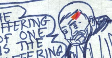 ben kenobi - comic page detail