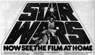 8mm star wars film