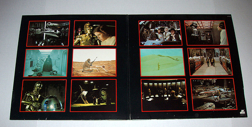 soundtrack album gatefold sleeve