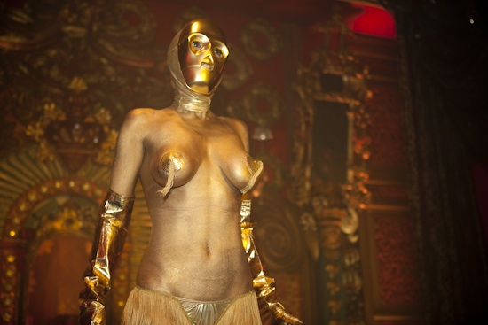 burlesque threepio
