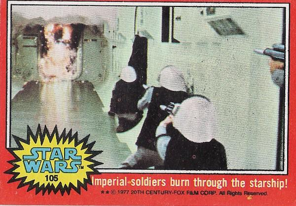 rebels star wars trading card 1977