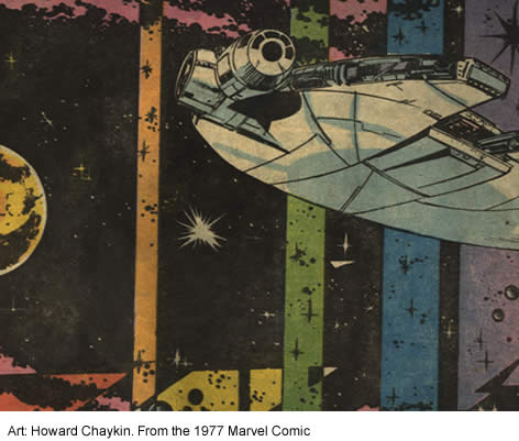 howard chaykin's impression of hyperspace