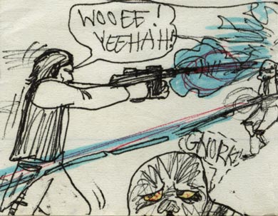 chewbacca star wars comic image detail image 1