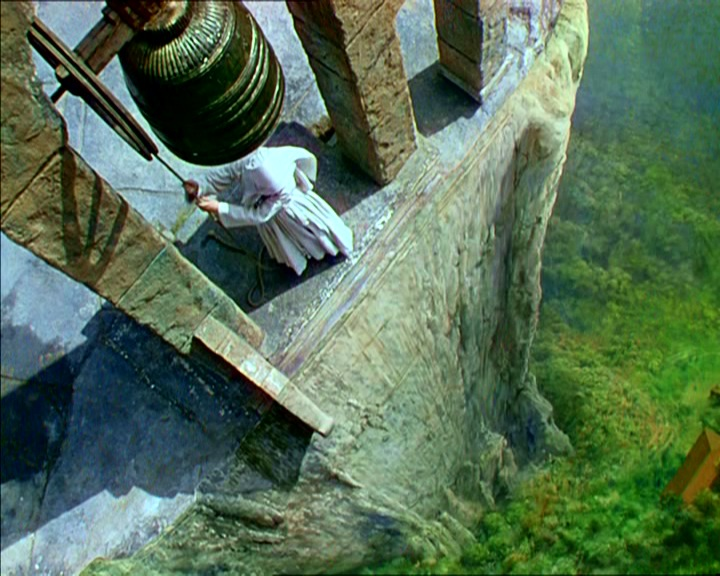 black narcissus film film still bell glass painting
