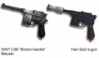 mauser and han solos gun