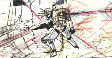 star wars hidden drawing