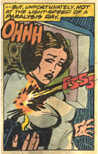 Princess Leia is stunned in marvel