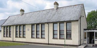 An old Irish National (primary) school