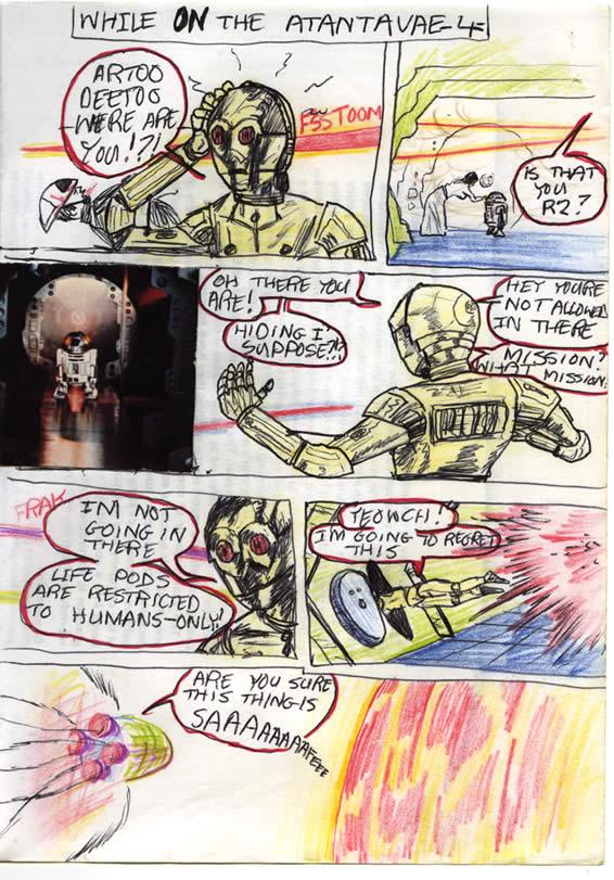 017: The Droids Escape