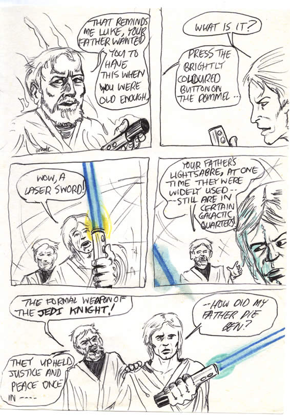 "048: ""Your father's lightsaber"""