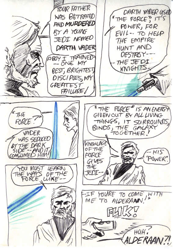 "050: ""Vader was seduced by the Dark Side"""