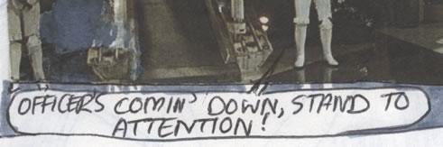 Knock-kneed stormtrooper