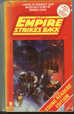 The empire strikes back novelisation, young readers' edition 1980