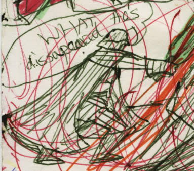 vader strikes down kenobi and kenobi vanishes