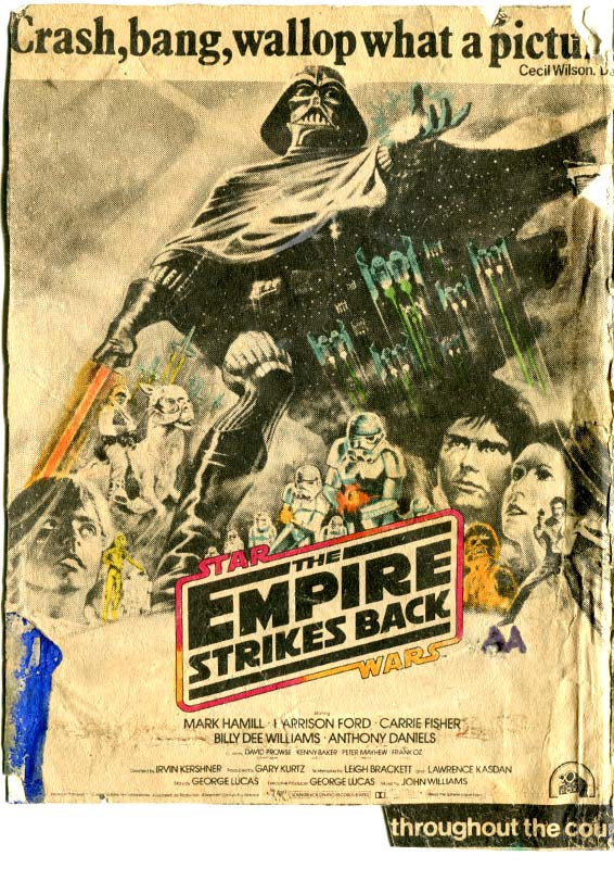 Empire Strikes Back comic adaptation front cover