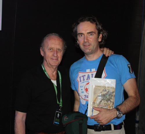 Kenneth Colley (Admiral Piett) and Me at the INVASION convention