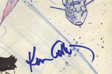 Kenneth Colley's autograph