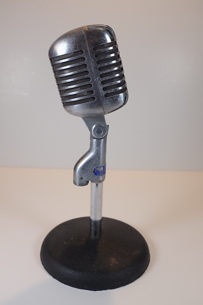 Shure S55s skeleton microphone