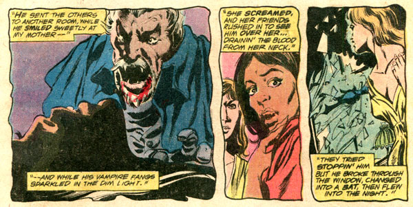 tomb of dracula comic 58 colan palmer