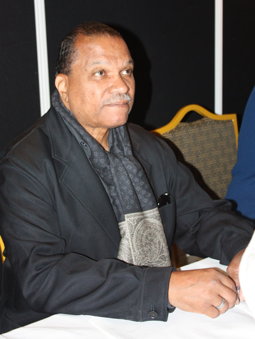 Billy Dee Williams meet and greet and Ireland's Invasion Star Wars show