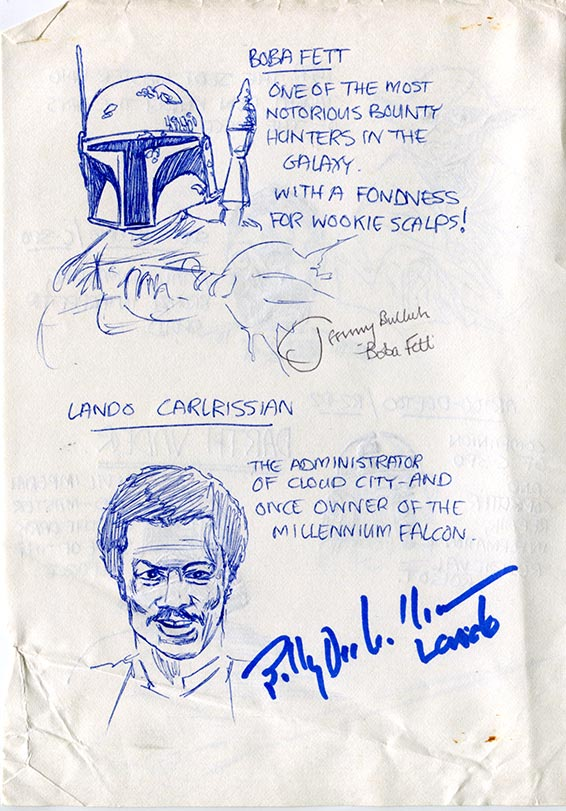 Who's Who 3—Boba Fett and Lando Calrissian