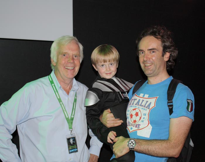 Jeremy bulloch at the irish invasion star wars show