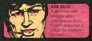 who's who in star wars form star wars weekly comic han solo
