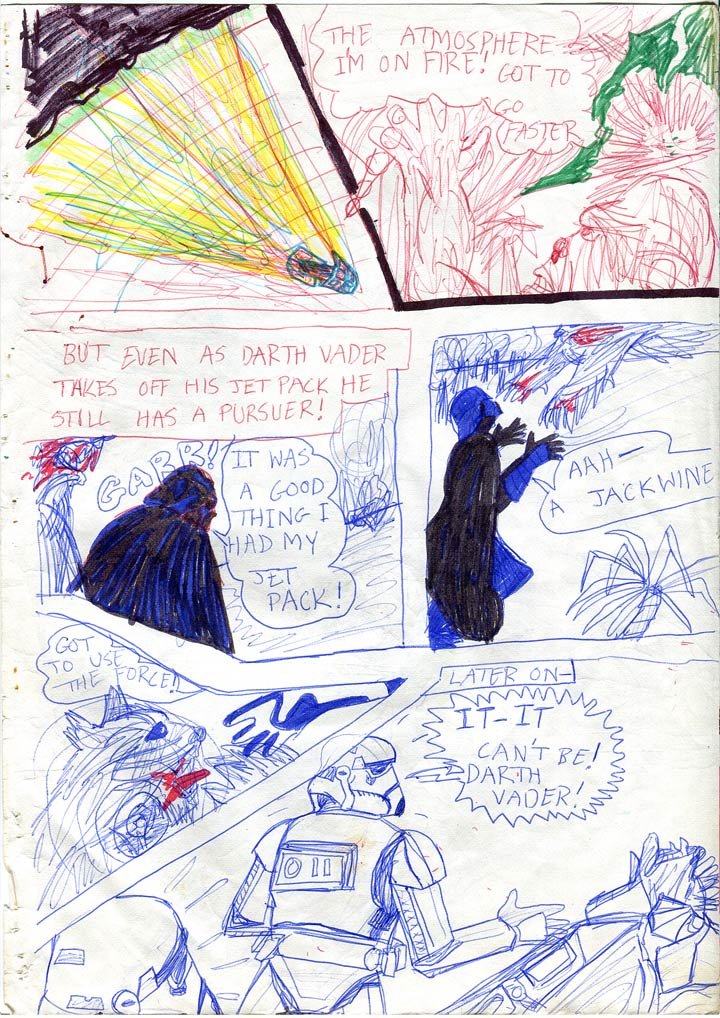 02: Darth is Attacked by a Beast in the Jungle!