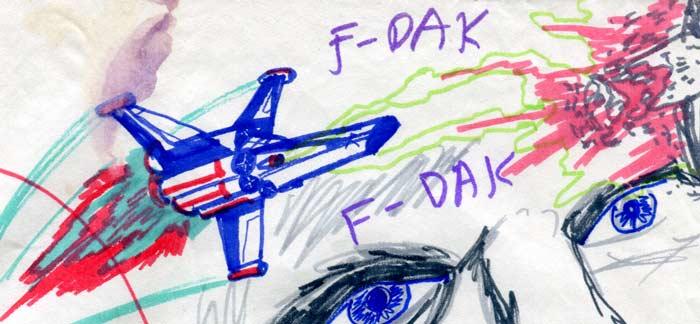battlestar galactica viper in star wars!—kids' star wars comic page image detail