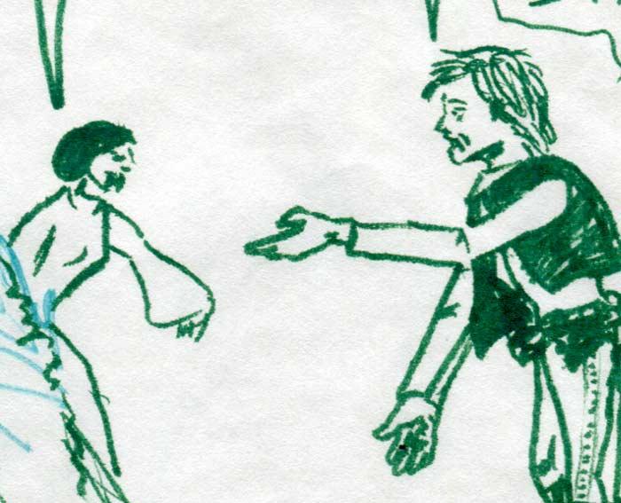 leia nagging han solo—kids' star wars comic page image detail