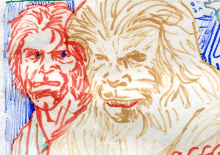 chebacca and luke copied from all williamson—kids' star wars comic page image detail
